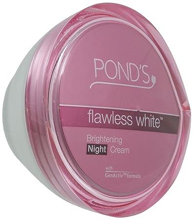 Amazon.com: Pond\'s Flawless White Brightening Night Cream 50 grams ...