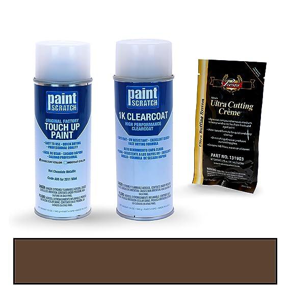 Amazon.com: PAINTSCRATCH White Silver Metallic A62 for 2011 Mini Cooper - Touch Up Paint Spray Can Kit - Original Factory OEM Automotive Paint - Color Match ...
