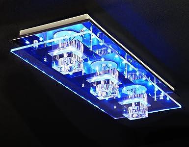 Plafond ou applique murale avec led changement de couleur