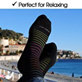 Cotton Compression Socks for Women. Graduated