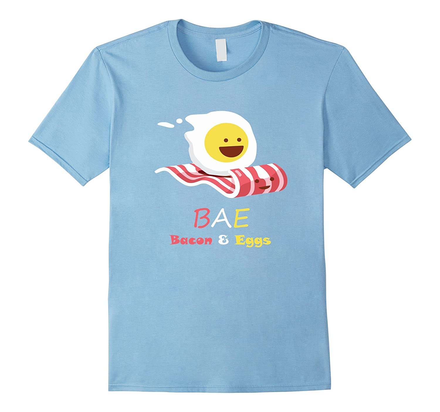 BAE Bacon And Eggs Funny Egg Riding Bacon Magi Carpet Shirt-CD