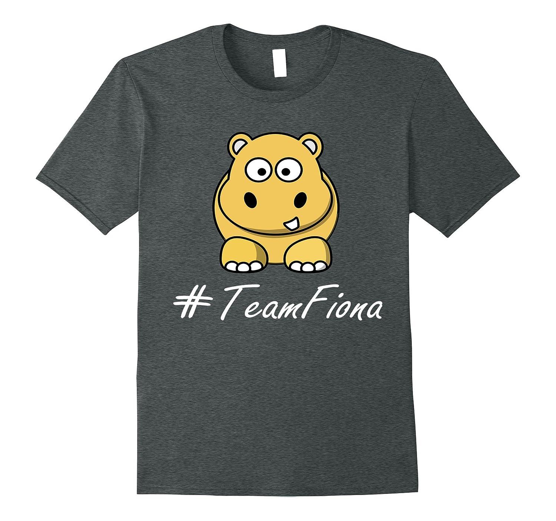 #TeamFiona, The Hippo Cute Baby Hippo Fiona T-Shirt-TH