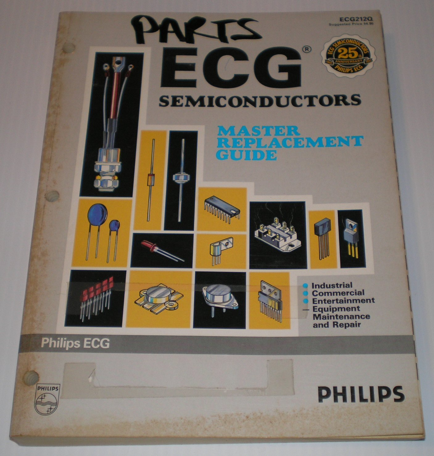 Nte manual de reemplazos semiconductores youtube. Annual report 2017. Ecg semiconductors  master replacement ...