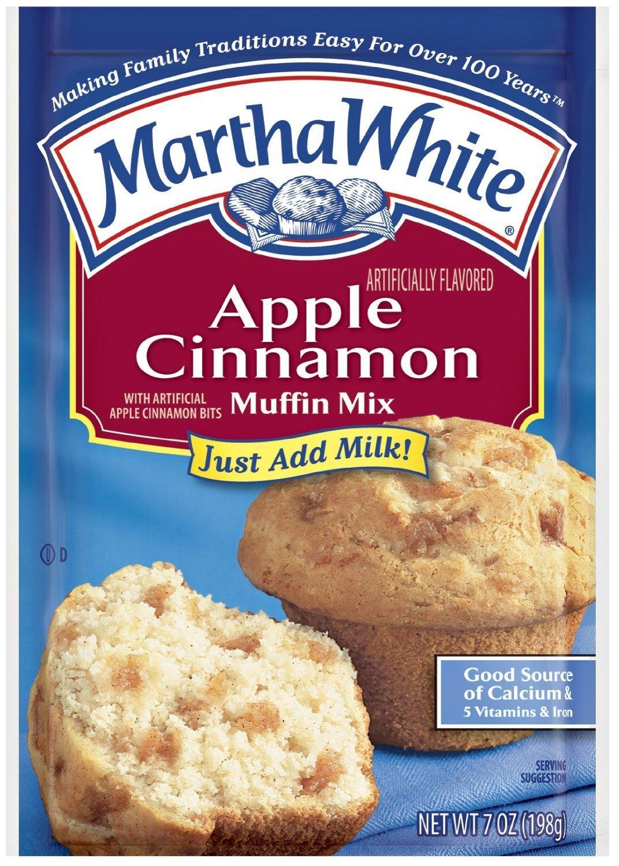 Martha White: Muffin Mix Apple Cinnamon, 7 Oz