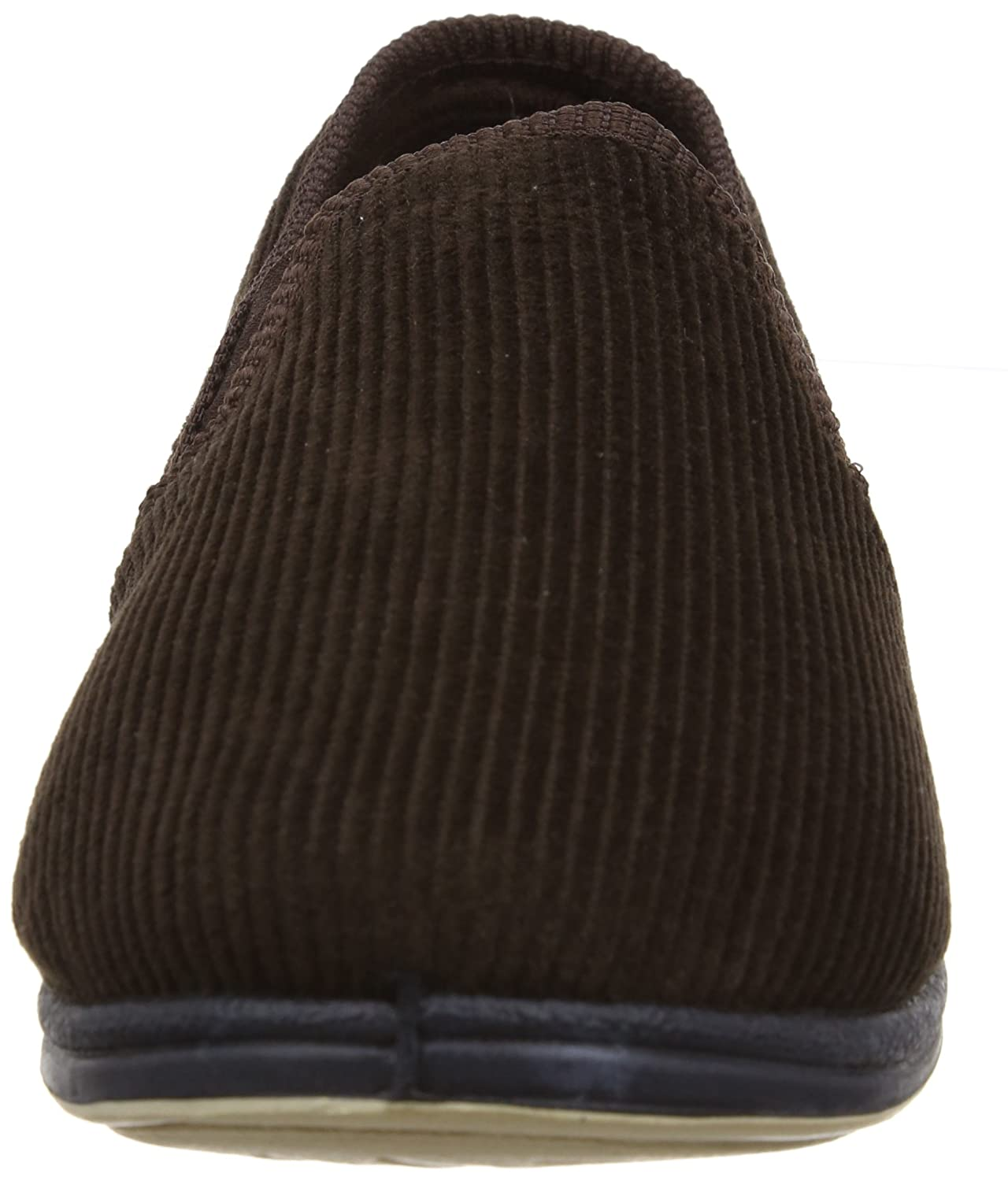bc658885ce218b Amazon.com | Padders ALBERT Mens Corduroy Wide Fit Full Slippers Brown UK  13 | Shoes