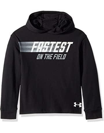 41bf79d446e5 Under Armour Boys Fastest Graphic Long sleeve Hoodie