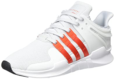 best cheap 78863 c443c adidas Herren EQT Support ADV Sneaker Grau (Clear GreyBold OrangeFootwear  White