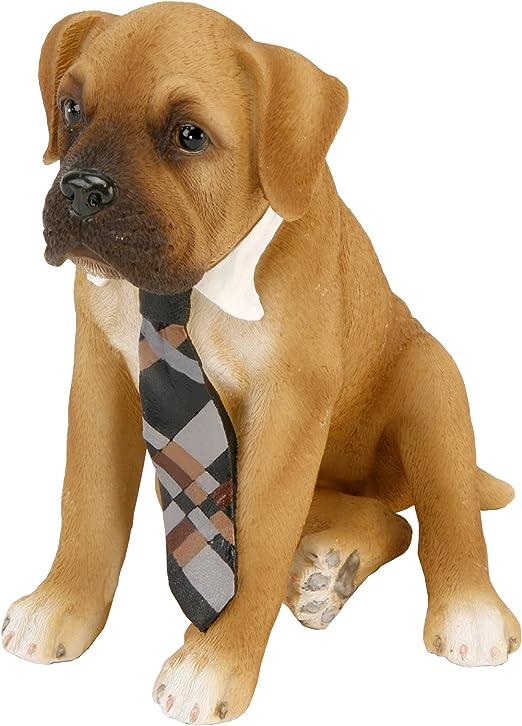 Boxer con corbata adorno de perro Naturecraft Pawz – Figura ...