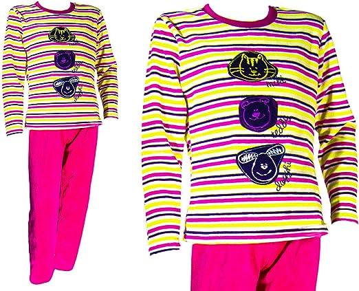 Pijama tundosado (Terciopelo) Manga Larga Niña - Juvenil F-T ...