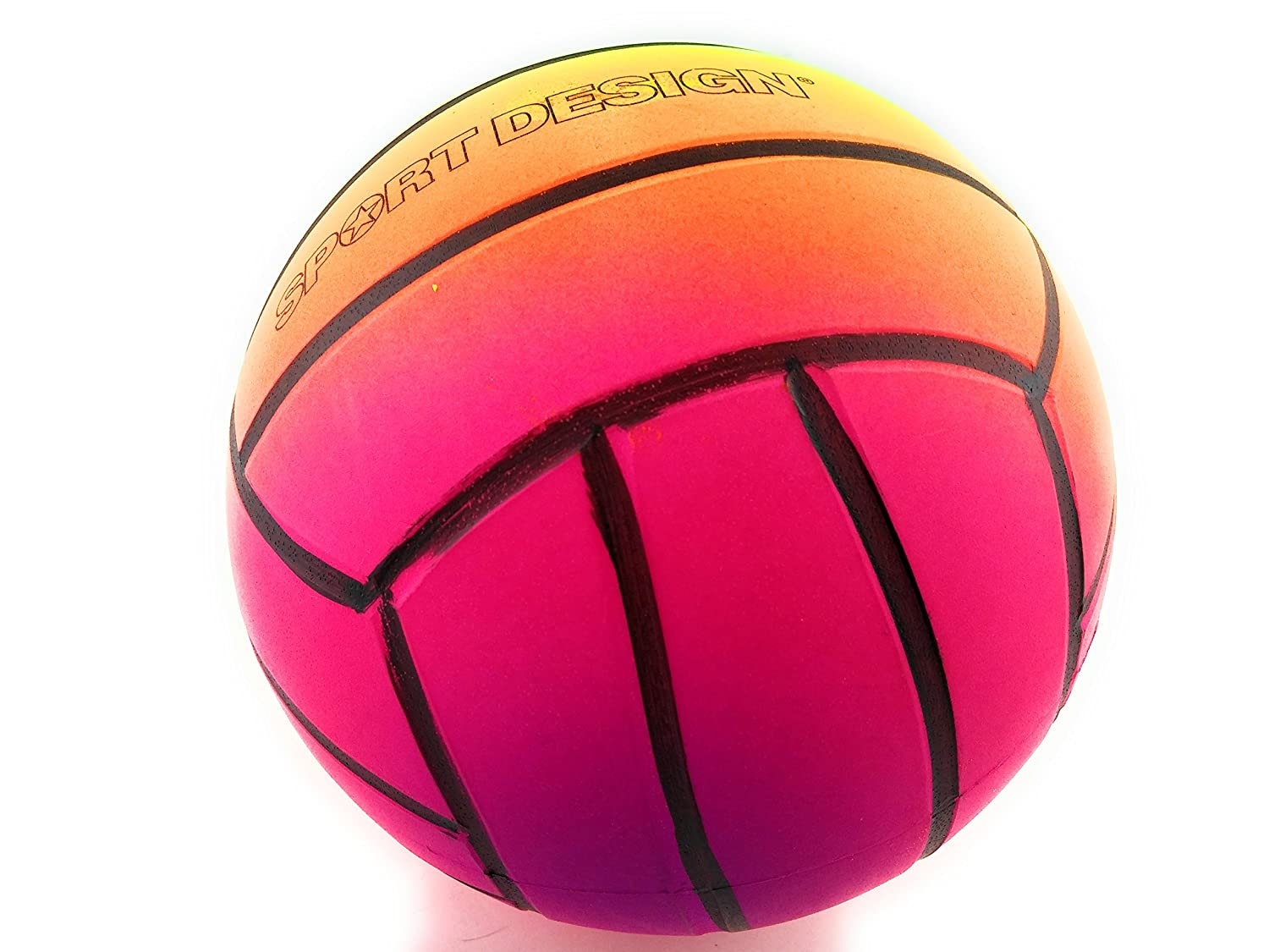 Sport Design Classic Mini Inflated Volleyball, Assorted Colour, 1PC B01ENM3R6O