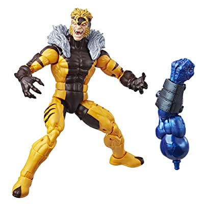 Marvel X-Men 6-inch Legends Series Sabretooth: Toys & Games