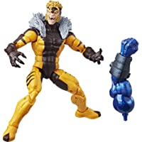 Marvel Legends Action Figure, Sabretooth, 6 Pulgadas