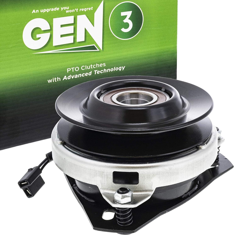 8TEN Gen 3 Electric PTO Clutch for Craftsman MTD Cub Cadet Troy Bilt Warner 74022 917-1708 717-1708 5215-129 7074022