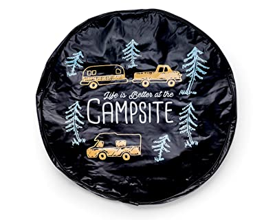 "Camco Life Is Better At Campsite 27"" Vinyl Cover"