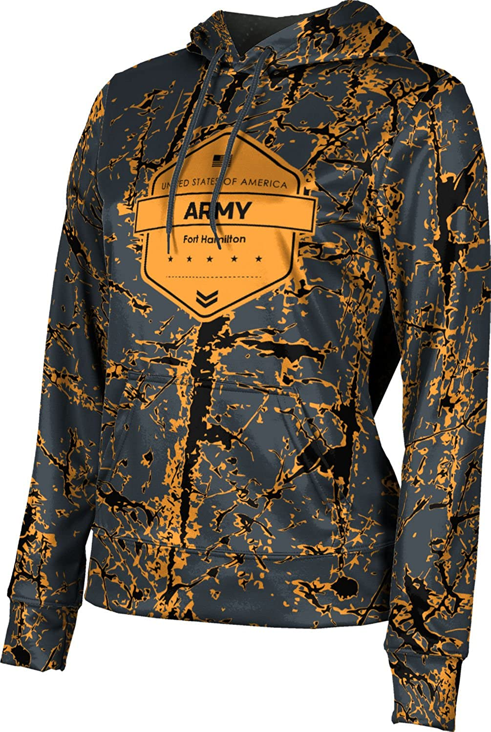 ProSphere Women's Fort Hamilton Military Distressed Pullover Hoodie