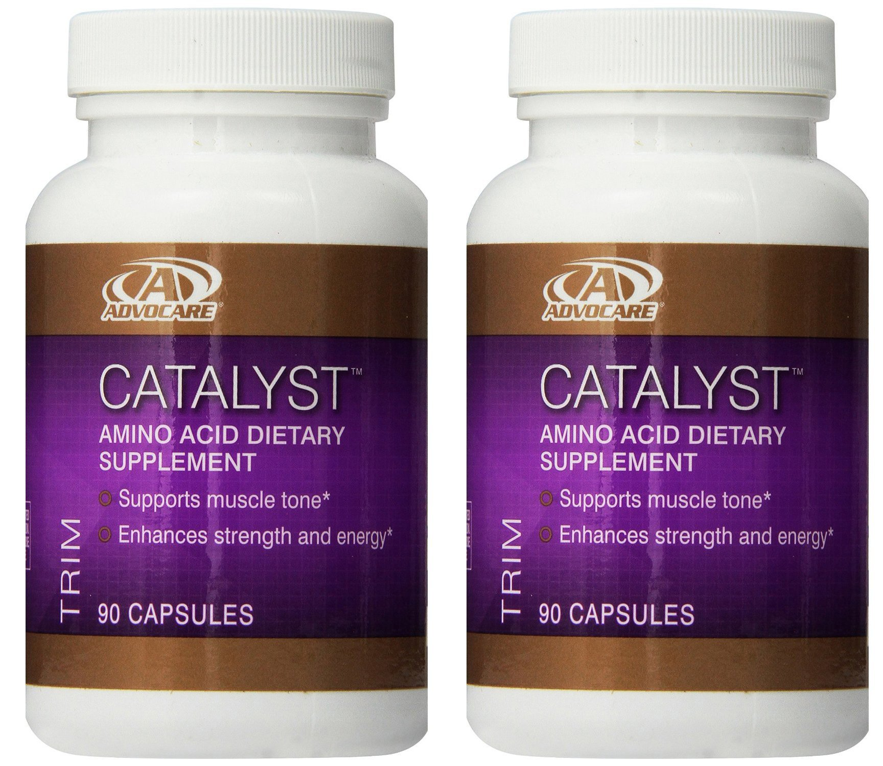 Advocare Catalyst Amino Acid Dietary Supplement, 2 Bottles, 90 Capsules
