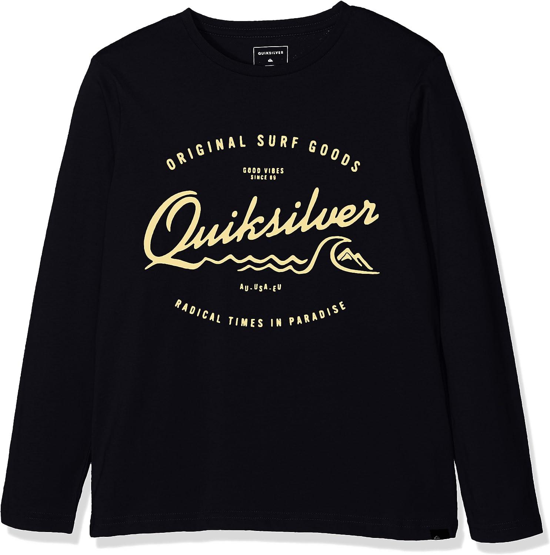 Quiksilver Ls ClassicYouth West Pier - Camiseta de manga larga para niño: Amazon.es: Ropa y accesorios