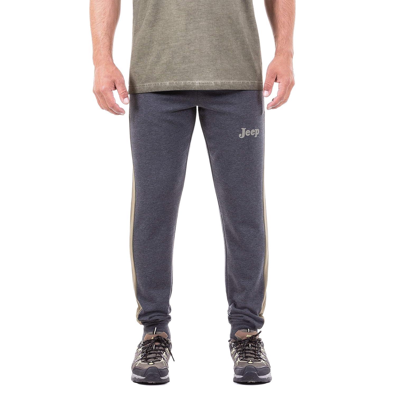 Jeep Pantaloni, Tuta Invernale Uomo, Dark grigio Melange Burnt Olive, XL