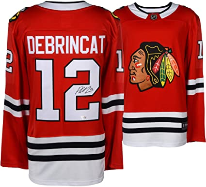 97524007406 Alex DeBrincat Chicago Blackhawks Autographed Red Fanatics Breakaway Jersey  - Fanatics Authentic Certified at Amazon's Sports Collectibles Store