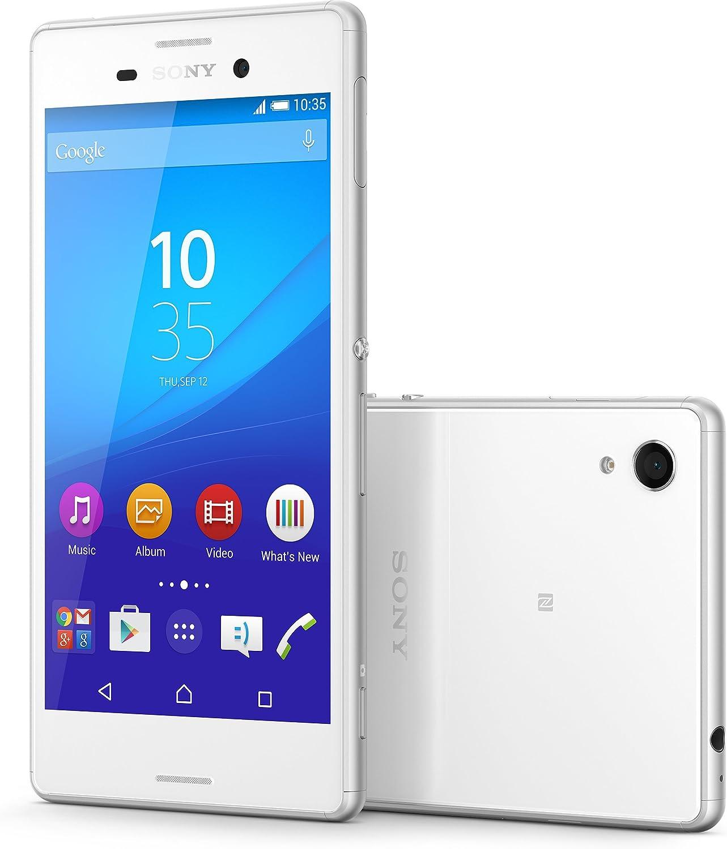 Sony Xperia M4 Aqua E2036 16GB Unlocked GSM 4G LTE Android Smartphone w/ 13 Megapixel Camera - White