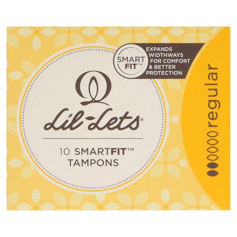 Lil-Lets 10 Smartfit Tampons Regular, 10 per Pack LIL-LTS 96787