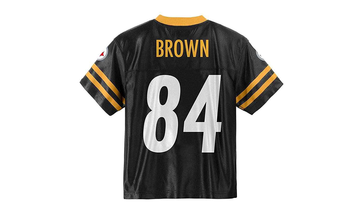 481973f52 Amazon.com   Antonio Brown Pittsburgh Steelers Black Youth Jersey X-Large  18-20   Sports   Outdoors