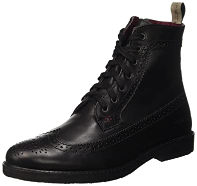 Guess Bastian, Chaussures de Gymnastique Homme, Noir (Nero), 45 EU