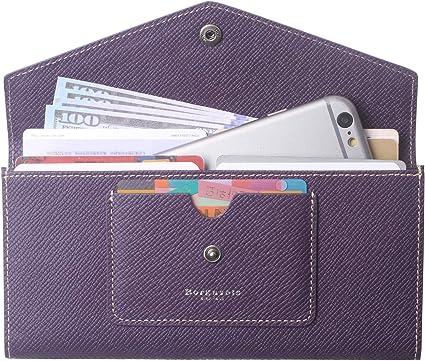 Envelope Women Leather Clutch Wallet Long Card Cash Holder Purse Handbag Gift US