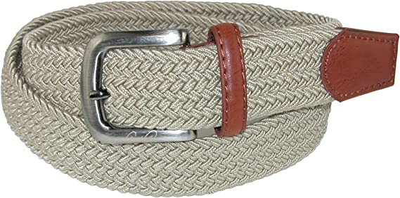 Arnold Palmer Mens Braided Belt Black Xl