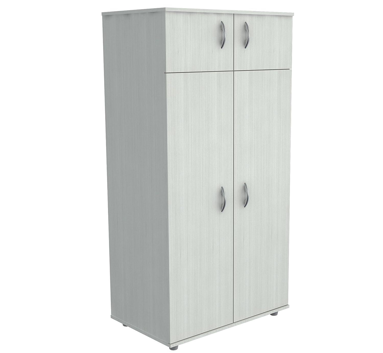 Inval America 4 Door Wardrobe Armoire, Laricina White AM-12623