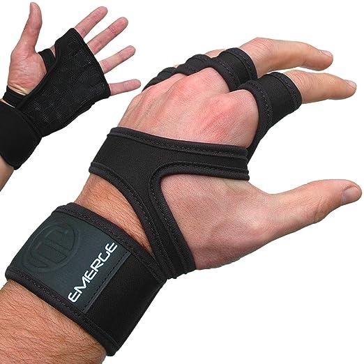 3 opinioni per Pull Up Guanti Crossfit–Protezioni di mano Forte unico con Wrist