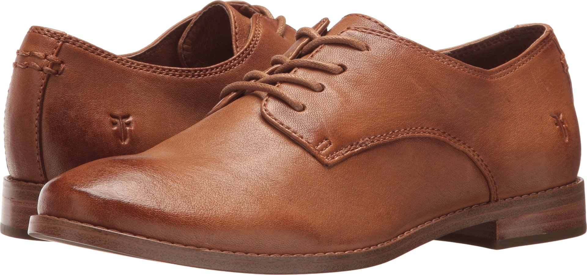 FRYE Women's Anna Oxford Camel 8 B US