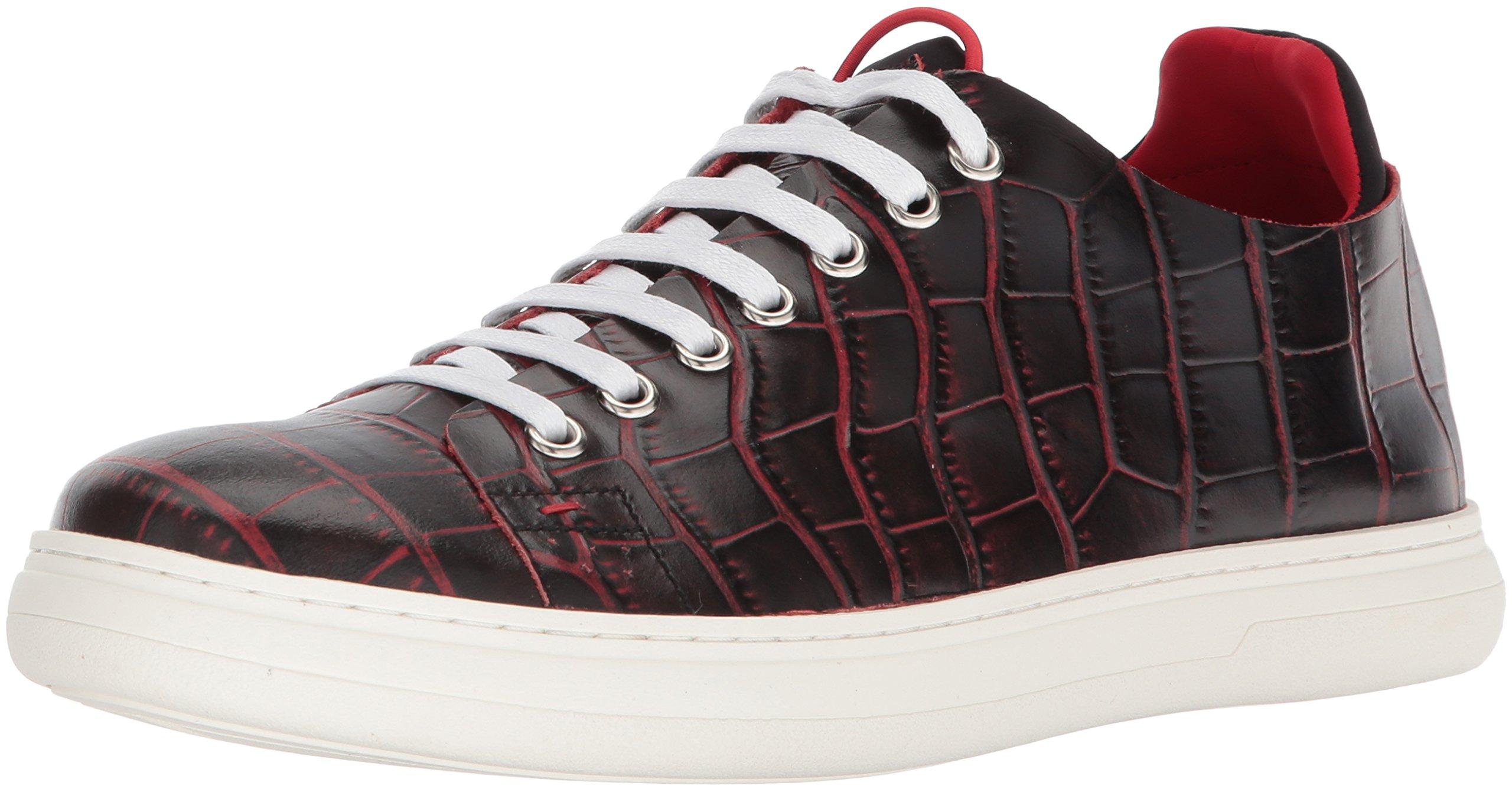 Donald J Pliner Men's Pierce Sneaker, Black, 12 Medium US