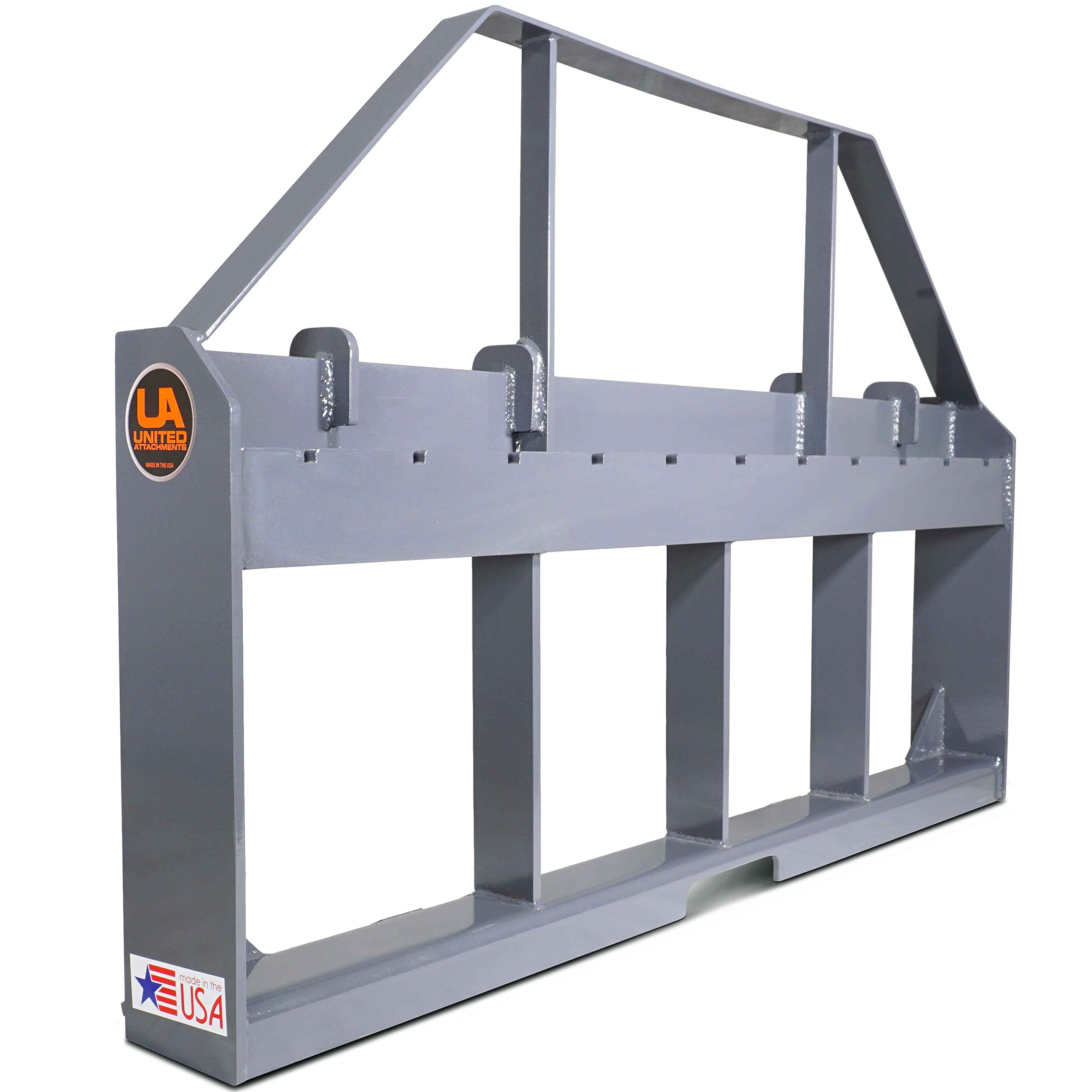 UA Made in the USA Skid Steer Pallet Fork Frame by Titan Attachments