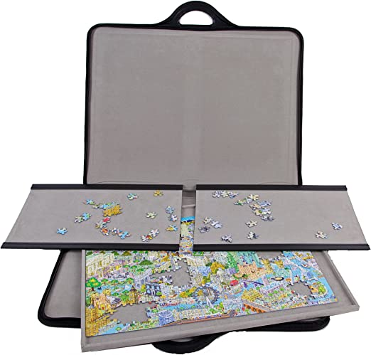 jigthings JIGSORT 500 - Jigsaw Puzzle case for up to 500 Pieces