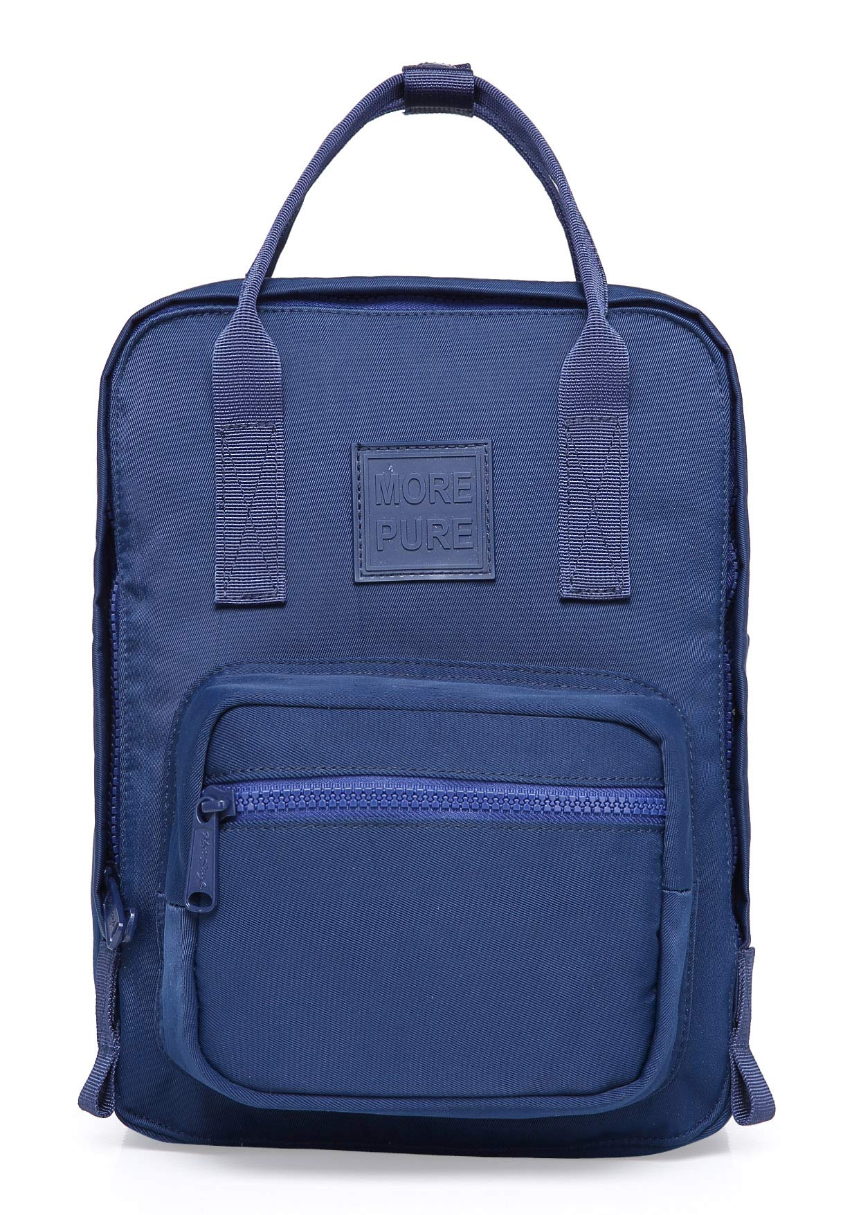 MOREPURE 232s Small Backpack Purse | Fits 10-inch iPad | 11.8''x8.6''x5'' | Navy