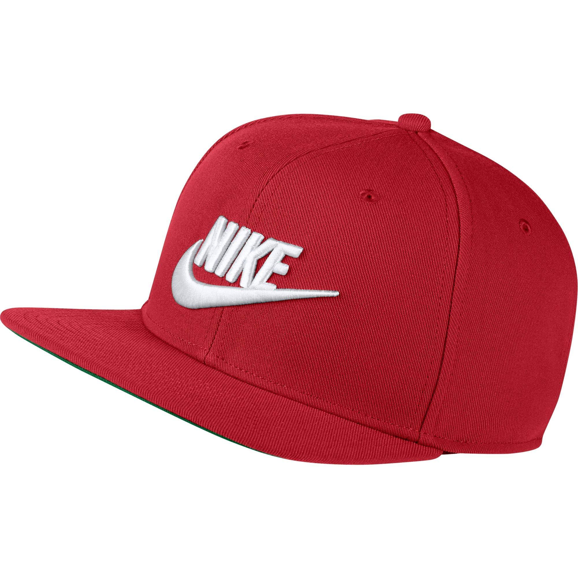 NIKE Unisex Sportswear Pro Cap (University Red, One Size)