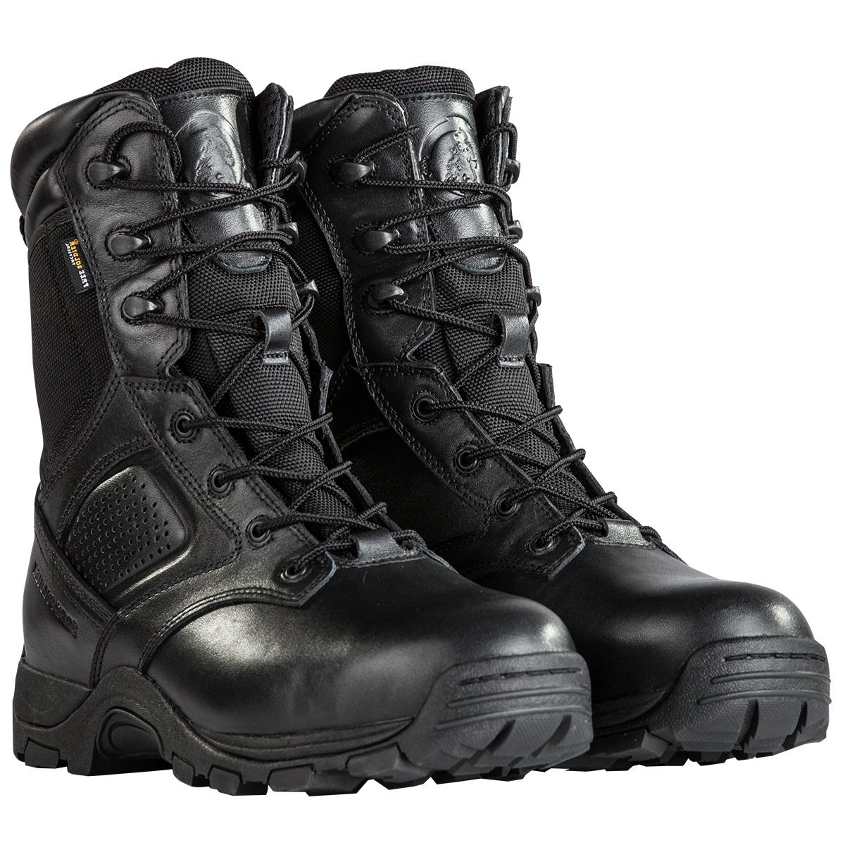 Steel Toe Tactical Boots - FREE SODLIER Waterproof Shoes Penetration Resistant Composite Toe Combat Boot(Black 12.5)