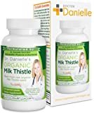 Dr. Danielle Organic Milk Thistle 30:1 Extract, Standardized to Contain 80% Total Flavonoids, Natural Silymarin Organic Silybum marianum product from Doctor Danielle, 200 count bottle