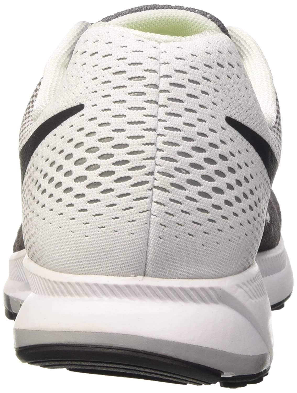 Nike Men's Air Zoom Pegasus 33 B019DNQPQW 7.5 D(M) US|Dark Grey / Black - White