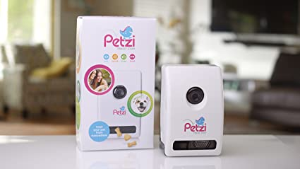 Petzi Treat Cam: Wi-Fi Pet Camera & Treat Dispenser Dog Camera