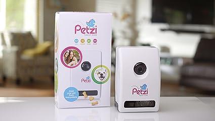 Petzi Treat Cam: Wi-Fi Pet Camera & Treat Dispenser  Dog Camera
