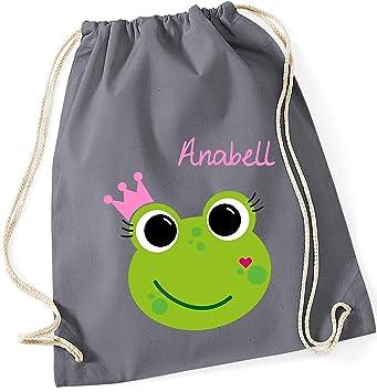 Kindergarten Kinderrucksack Frösche Rucksackbeutel Turnbeutel
