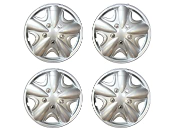 XtremeAuto© 15 inch, Silver, STYLE WHEEL TRIMS, Hub Caps Covers for RENAULT