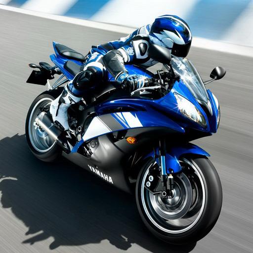 Racing moto: Guess game