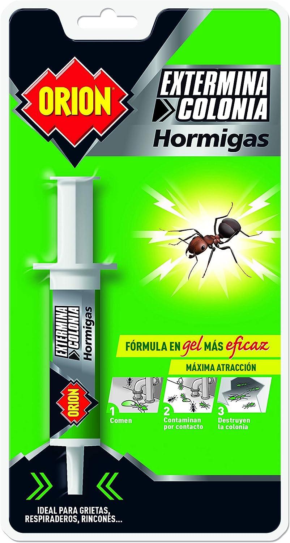 Orion - Jeringa Matahormigas en Gel para Grietas, Respiraderos y Rincones - 4 ml