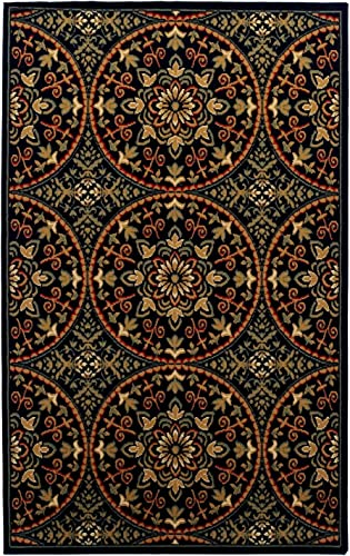 Superior Mesmerizing Fancy Medallion Area Rug