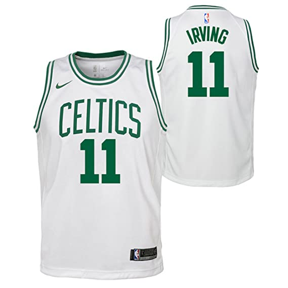 Nike NBA Boston Celtics Kyrie Irving 11 2017 2018 Association Edition Jersey Oficial Home, Camiseta de Niño: Amazon.es: Ropa y accesorios