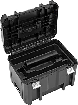DWST1-70705 Schubladen-Box mit 6 zus/ätzlichen Inset-Boxen, kombinierbar mit anderen Tstak-Boxen, sichere Verwahrung von Elektrowerkzeugen und Handwerkzeugen stabelbare Werkzeugbox DeWalt Tstak III Transportbox