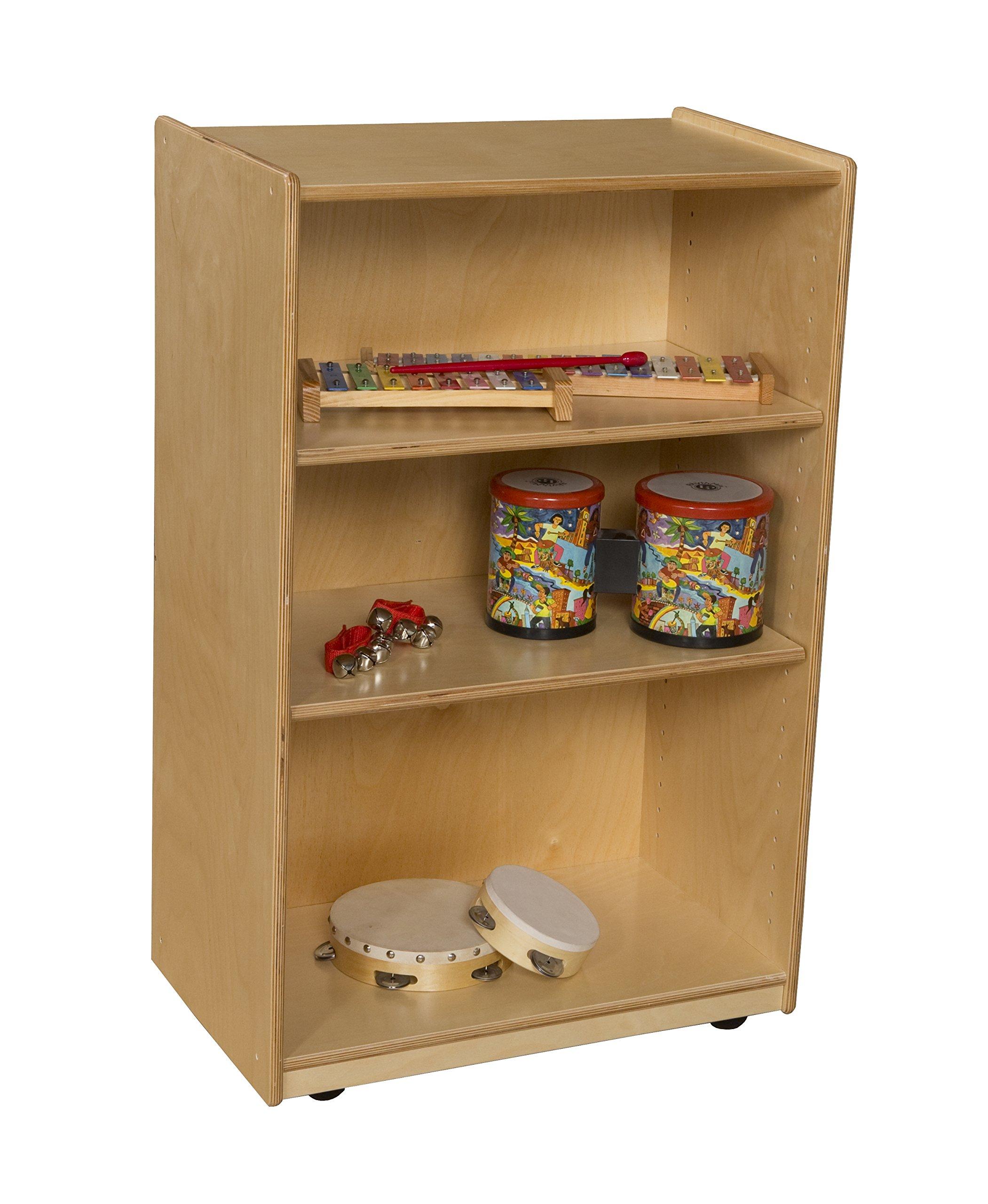 Wood Designs 25000AJ Storage Shelf with Adjustable Shelves